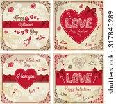 Vintage Valentines Day Design....