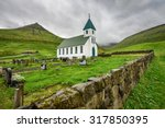 Small Village Church With...