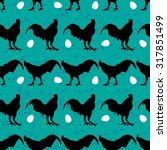 vector seamless pattern with ...   Shutterstock .eps vector #317851499