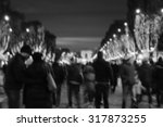 blurred photo of people... | Shutterstock . vector #317873255