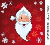 santa claus   christmas card | Shutterstock .eps vector #31787500