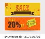 creative website header or...   Shutterstock .eps vector #317880701