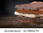 Stock photo candy bars 317884274