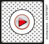play. icon. vector design   Shutterstock .eps vector #317897897