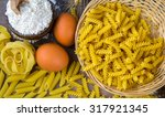 macaroni pasta | Shutterstock . vector #317921345