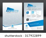 business brochure template.... | Shutterstock .eps vector #317922899