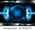 dark blue color light abstract... | Shutterstock .eps vector #317925275