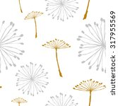 dandelion pattern | Shutterstock .eps vector #317955569
