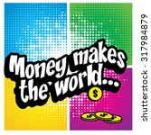 """pop art comics icon """"money...   Shutterstock .eps vector #317984879"""