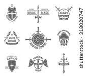 vintage heraldic coat of arms...   Shutterstock . vector #318020747