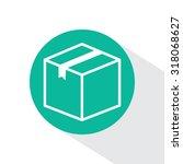 box vector icon   Shutterstock .eps vector #318068627