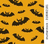 bat drawn vector illustration... | Shutterstock .eps vector #318082181