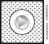 play. icon. vector design | Shutterstock .eps vector #318090431