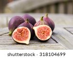 Whole Figs And One Fig Sliced...