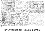 business doodles | Shutterstock .eps vector #318111959
