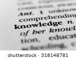 Small photo of Knowledge