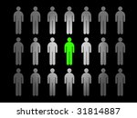 group of people | Shutterstock . vector #31814887