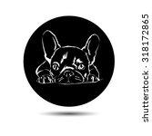 dog vector breed cute pet... | Shutterstock .eps vector #318172865