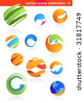 collection of abstract icons   4 | Shutterstock .eps vector #31817749