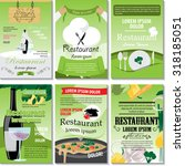 restaurant poster design set  ...