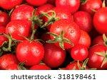 Fresh Small Red Cherry Tomatoe...