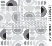 vector seamless abstract black... | Shutterstock .eps vector #318208394