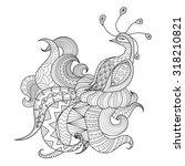 Digital Drawing Zentangle...