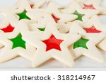 Stained Glass Star Sugar Cookies