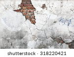 vintage background texture old... | Shutterstock . vector #318220421