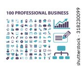 business icons | Shutterstock .eps vector #318230099