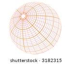 vector globe | Shutterstock .eps vector #3182315