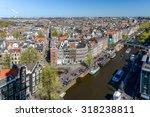 Stock photo  netherlands amsterdam editorial panorama amsterdam 318238811