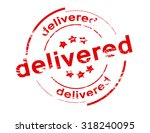 rubber stamp with word... | Shutterstock .eps vector #318240095