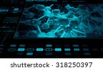 abstract technology interface...