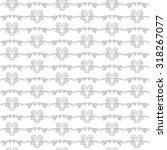 seamless pattern of elegant...   Shutterstock . vector #318267077