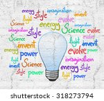 invention bulb | Shutterstock . vector #318273794