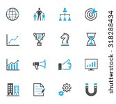 business and finance icons | Shutterstock .eps vector #318288434
