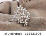 indian bangles. bracelet with... | Shutterstock . vector #318321905