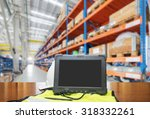 bluetooth barcode scanner in... | Shutterstock . vector #318332261