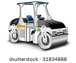 asphalt skating rink  white... | Shutterstock .eps vector #31834888