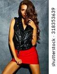fashion glamor stylish... | Shutterstock . vector #318353639