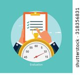 time management concept | Shutterstock .eps vector #318356831