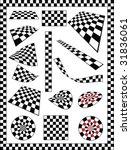 Checker  Race Flag  Chessboard...