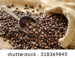Roasted Coffee Beans With...