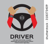 driver design element with... | Shutterstock .eps vector #318373409