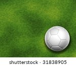 3d white soccer ball isolated... | Shutterstock . vector #31838905