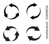 vector reload arrows | Shutterstock .eps vector #31838926