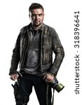 Post Apocalyptic Soldier. Styl...
