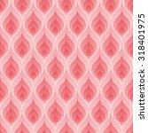 pink flame wallpaper. 3d... | Shutterstock .eps vector #318401975