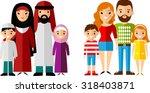vector illustration of arab... | Shutterstock .eps vector #318403871